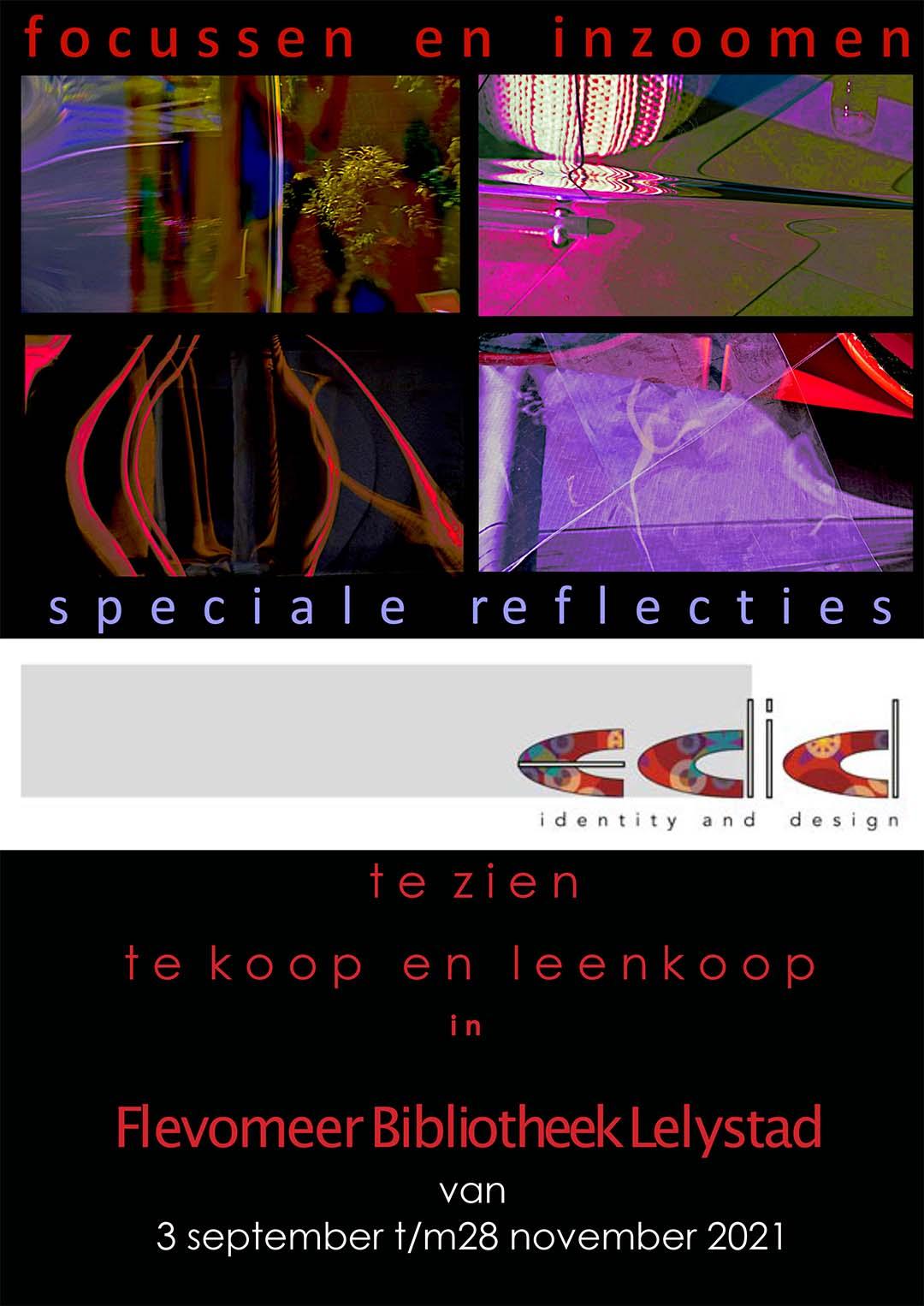 Aankondiging expositie bieb Lelystad 2021